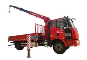 SQ6.3 Truck Mounted Crane (Straight Boom Crane)