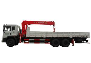 SQ8 Truck Mounted Crane (Straight Boom Crane)